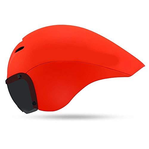 XYBB Casco Bicicleta Casco de Seguridad para Ciclismo con Lente Cascos ultraligeros...