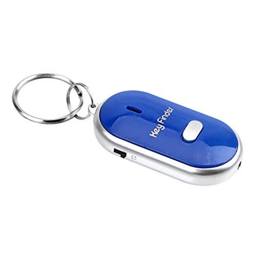 Sleutelvinder Wireless Key Finder met 4 ontvangers RF Item Locator, Item Tracker Support afstandsbediening, huisdier tracker, wallet tracker voor je verloren voorwerpen blauw
