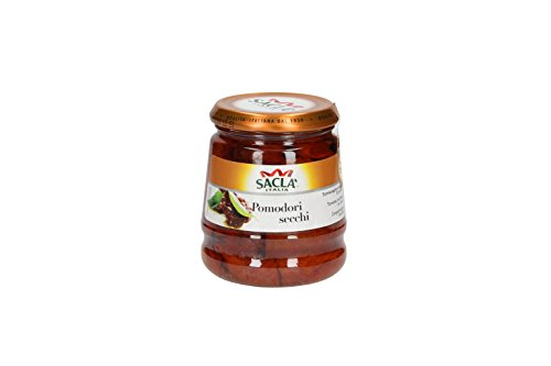 Saclà Pomodori Secchi, Sonnengetrocknete Tomaten, Für Pasta und Antipasti 280g
