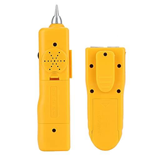 Detector de cables Probador de cables Herramienta de diagnóstico de tono Rastreador de cables para el mecánico para el rastreador de cables Tóner Ethernet Conexión de cables de red LAN