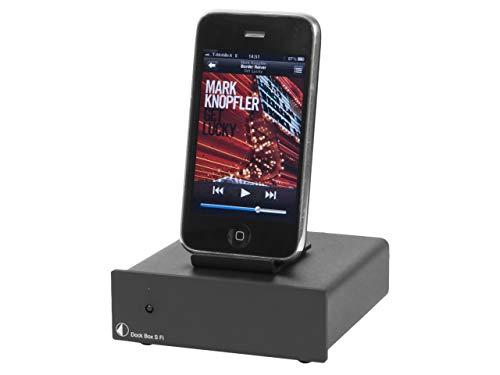 Pro-Ject Dock Box S Fi schwarz