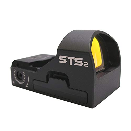 CMORE Systems STS2 Super Bright 6 MOA Red Dot Sight Black