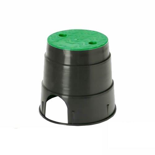 Rc Junter ARQ 1R Arqueta de riego Circular pequeña, Verde,