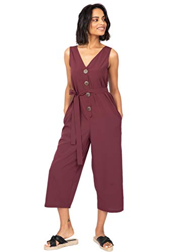 likemary Cropped Jumpsuit Cropped Ontspannen Romper