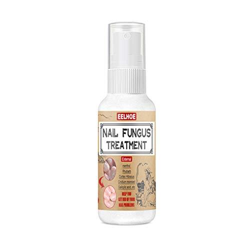 equival Spray Riparatore per Unghie 30   50ml, Spray per Piedi per La Cura del Corpo, Trattamento Anti-Fungo per Unghie Spray Naturale Sicuro E Nutriente per Unghie