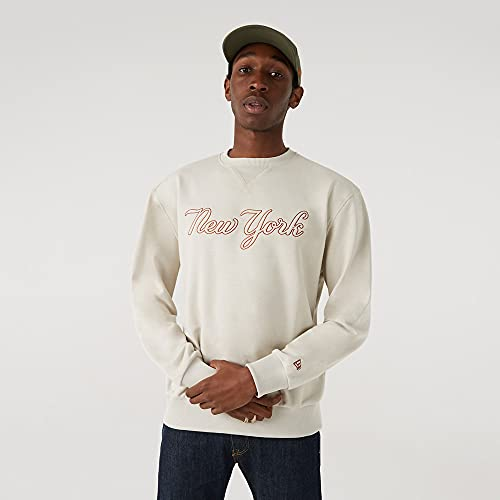 New Era MLB NEW YORK YANKEES Heritage Script Crew Sweatshirt, Größe:XXL