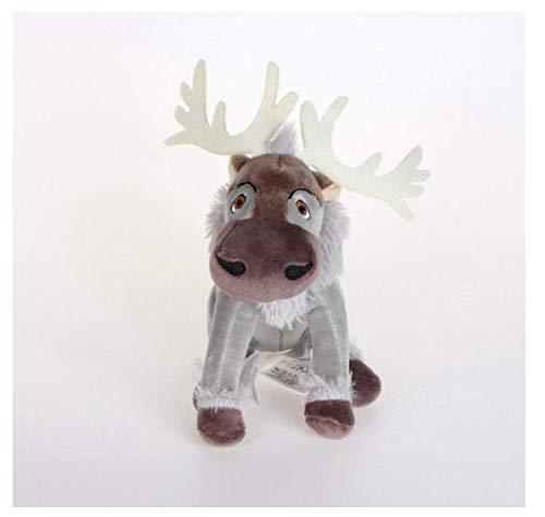 N-L Stuffed Toy Kawaii Anime Sven Reindeer Kristoff Friend Svee Solf Stuffed Plush Doll Toys for Kids 20Cm