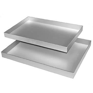 Alan Silverwood Swissroll Pan 13  x 9  x 0.75 , Silver Anodised Aluminium, Hand Wash