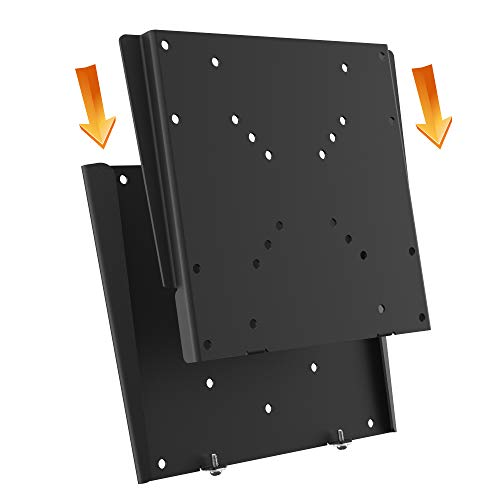 RICOO F0522 Monitor-Halterung Flach Fix Universal 15-32 Zoll (38-81 cm) TV Wand-Halterung Ultra-Slim TFT LCD PC Bildschirm VESA 50x50-200x200
