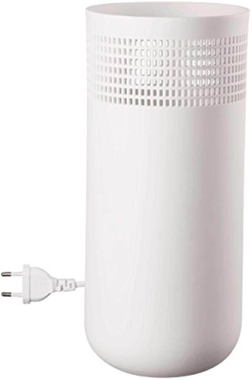 Lampe Durchmesser 12,5cm, Hhe 29cm, mit Gummifüen