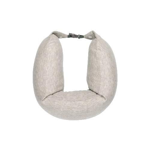 Yi-xir Suave y Duradero Tamaño: 640 x 165 mm, MI 8H Forma de U Multifuncional Cuello de U Cuello U1 Pad Cintura Ligero y Elegante (Color : Beige)