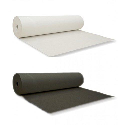 Bügelvlies beidseitig zum Aufbügeln | Vlieseinlage | Bügeleinlage| Farbe weiss #33 / Lange: 3 Meter
