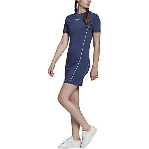 adidas Originals Vestido de mujer - azul - Medium