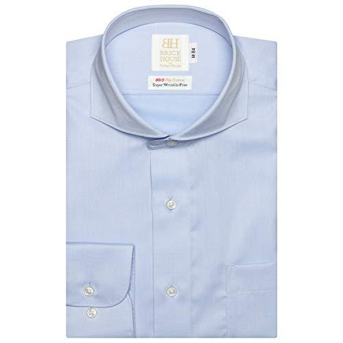 ブリックハウス ワイシャツ 長袖 形態安定 ホリゾンタル ワイド 綿100% スリム メンズ BM010103AA11Z4V-10 ...