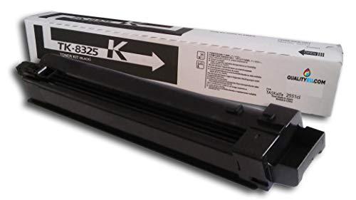 Tóner TK-8325K (1T02NP0NL0) Negro Compatible con impresoras Kyocera TASKalfa 2551ci. Maxima Calidad al Mejor Precio!