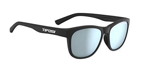 Tifosi Optics Swank Sunglasses (Satin Black/Smoke Bright Blue lenses)