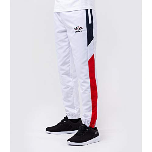 UMBRO - Pantalón de chándal Anthentic Blanc Pant h, blanco, extra-large