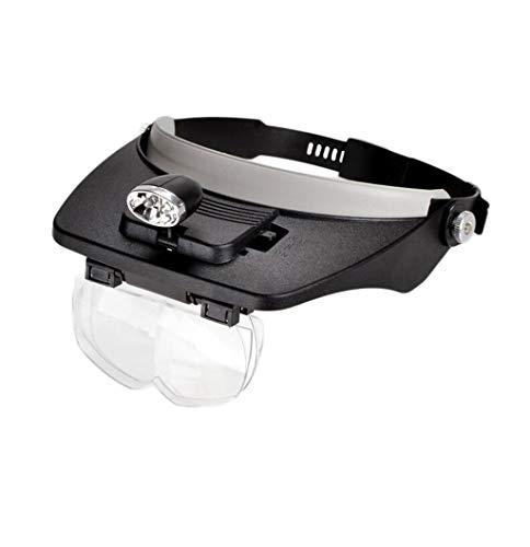 Silai - Lupa para soldar (LED, para Leer y Ver la Tele, con Lupa)