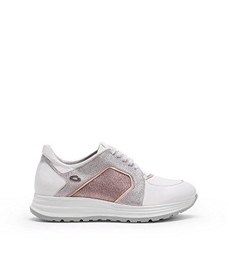 Alberto Guardiani Sneaker Donna Lenny in Pelle Bianca (41)