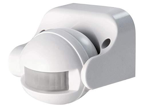 SCS Sentinel SCS T09W LightSensor Wire Detector de movimiento para exteriores para iluminación LightSensor-HCN0043, blanco