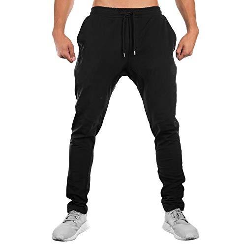 FRAUIT sportbroek heren mannen Sportwear Baggy joggingbroek sweatpants slacks nonchalante elastische broek jeans sportbroek heren lang – Core Cotton Pant joggingbroek ademend comfortabele broek jeans