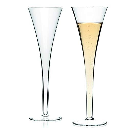 LEONARDO - Sektglas, Sektflöte, Sektfontaine Champagnerglas - Nizza - 2er Set