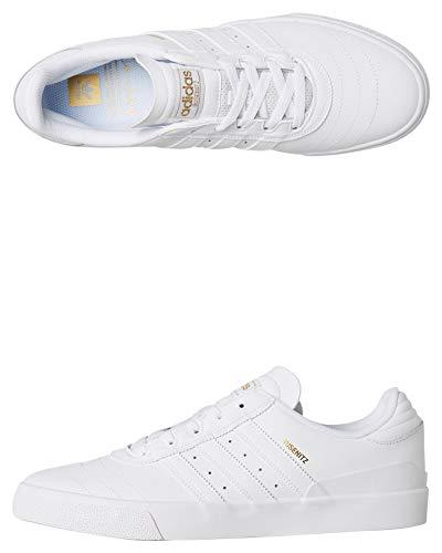 Adidas Busenitz Vulc - Zapatillas de Skateboarding para Hombre, Blanco, 43.5 EU