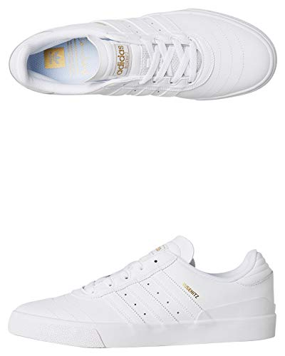 adidas Busenitz Vulc, Scarpe da Skateboard Uomo, Bianco (Blanco 000), 44 EU