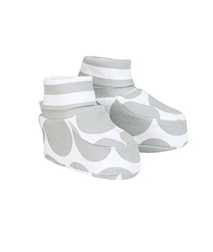 Döll Baby-Mädchen Babyschuhe zum Wenden Jersey Socken, Grau (Quarry 1270), One Size (Herstellergröße: 0)