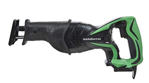 Metabo HPT 18V Cordless Reciprocating Saw | Tool Only | No Battery | Adjustable Front Shoe | Tool-LESS Blade Change System | Lifetime Tool Warranty (CR18DSLQ4)