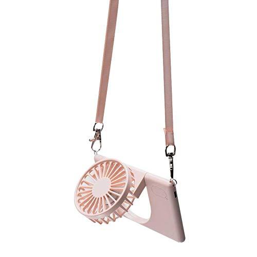 Hals Hangende Ventilator USB Opladen Mini Ultradunne Opvouwbare Draagbare Ultrastille Persoonlijke Ventilator Voor Zomer Buiten Reizen