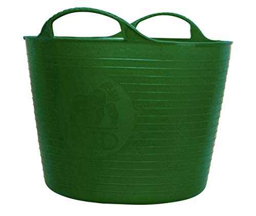 Tubtrugs 14L Piccolo Flessibile 2-Handled Riciclata idromassaggio, Verde