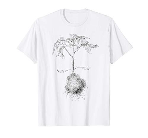 Tomaten Vintage Gärtner Kinder und Erwachsene T-Shirt