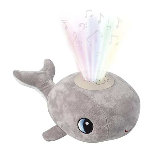 Musical Baby Night Light For Kids With Nursery Rhymes And Heartbeats - This Adorable Whale Night Light Projector And Sound Machine Is A Shusher, Soother And Sleep Aid
