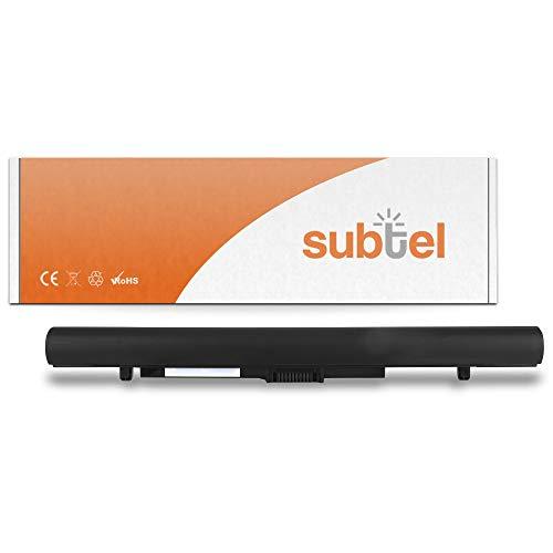 subtel® Batería de Repuesto PA5212U-1BRS para Toshiba Satellite Pro A40-C / A50-C / C50-D / R50-B / R50-C/Tecra A40-C / A50-C / Z50-C, 2200mAh 14.8V, Accu Ordenador portátil