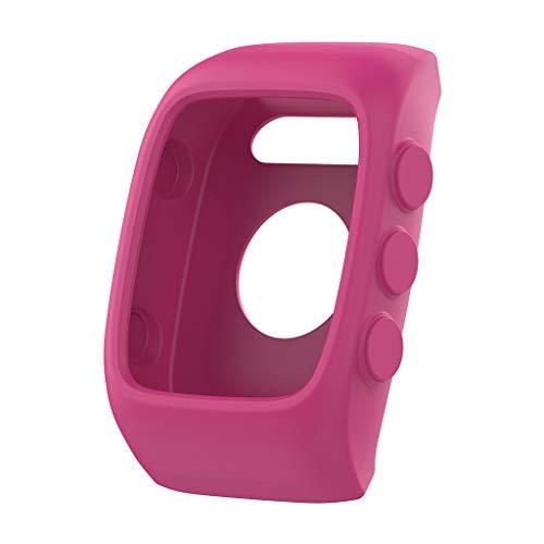 only y - Carcasa Protectora de Pantalla para Polar M400 M430 Watch, Color Rose Pink