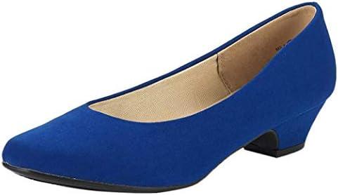 Royal blue wedges heels _image3