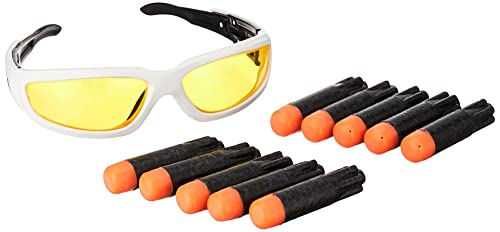 NERF Ultra Vision Gear and 10 Ultra Darts -- The Ultimate in Dart Blasting -- Darts Compatible Only Ultra Blasters