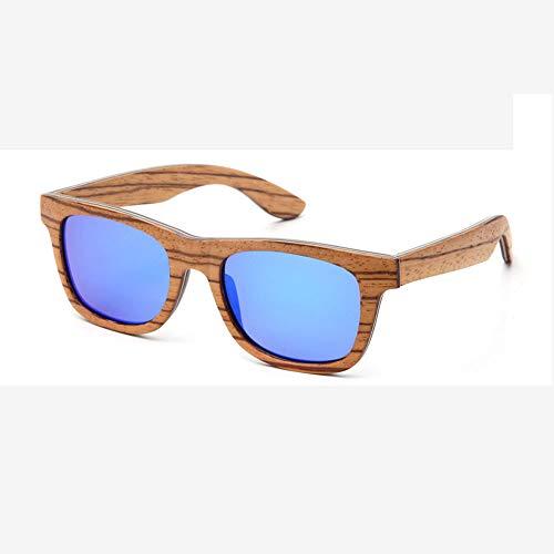 Lbyhning Houten gepolariseerde zonnebril, mannen en vrouwen, outdoor sportbril, ultra licht frame, bescherming door uv400 oogbescherming, legering scharnier B