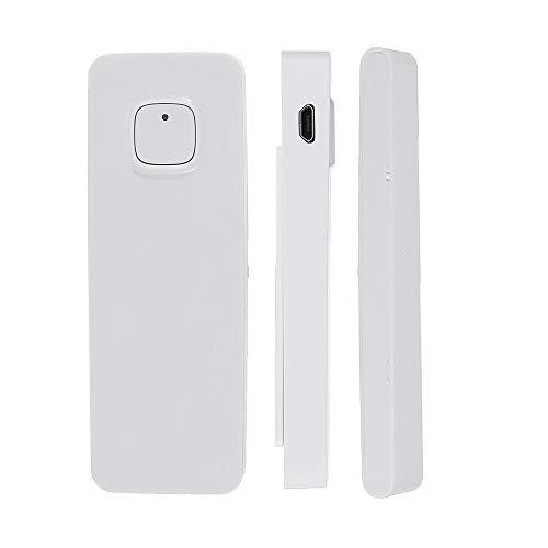 Les – DP-WD011 USB-oplader, smart home, veiligheid draadloos wifi alarm deur raam detector, deurmelder via app compatibel met Amazon Alexa ontvangst Google