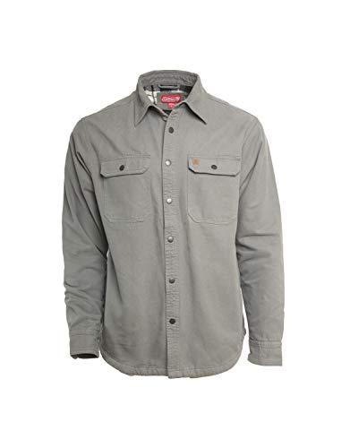 Coleman Men's Sherpa Lined Flannel Shirt Jacket