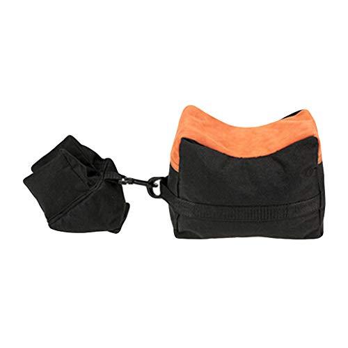 SamMoSon_Donna Unisex Tactical Outdoor Sandbag Borsa di supporto Ground Sandbag Photo Pupport Kit (Nero)