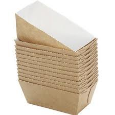 BAKERY DIRECT 200 MINI LOAF CARD BAKE-IN DISPOSABLE PAPER MOULDS FREEPOST by Bakery direct Ltd