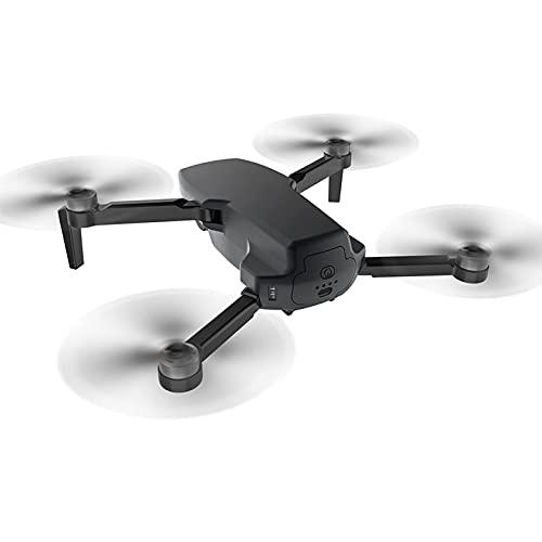JANEFLY Drone con cámara 4K UHD para Adultos, cuadricóptero GPS Plegable para Principiantes con Motor sin escobillas, Retorno automático a casa, Flujo óptico Negro