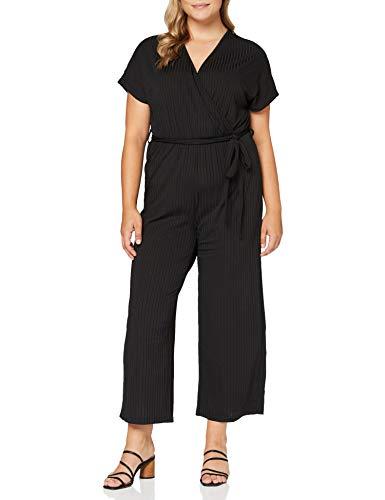 ONLY Carmakoma womens, Jumpsuit, Schwarz (Black), L-50/52
