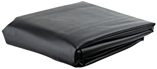 HAN'S DELTA Black 7' Heavy Duty Leatherette Pool Table Cover - 7 Foot Billiard Table Cover