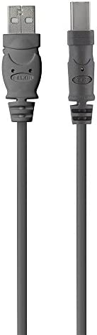 Belkin Premium Printer Cables Cable10 Ft4 Pin USB Type B to 4 Pin USB Type A Black F3U154BT3M product image