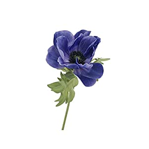 Anemone Artificial Flowers, Wedding Bouquets, Single-stem Fake Floral Bridal Wedding Bouquets.