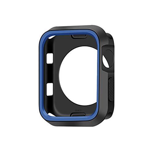 YGGFA Cubierta del Reloj Delgada de 360 Grados para Apple Watch 4 44mm 40 mm Caso Soft Clear TPU Protector de Pantalla para iWatch 4 Series Funda Protectora