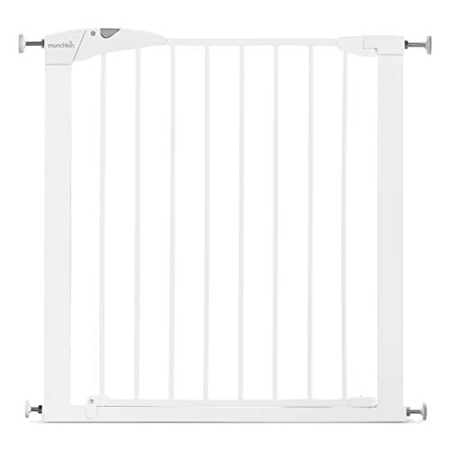 Munchkin Maxi-Secure Pressure Fit Safety Gate, 76 - 82 cm, White